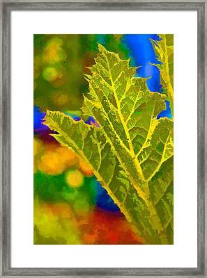 New Life Framed Print by Ken Stanback