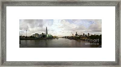 New London - Old London Framed Print by Keith Sutton