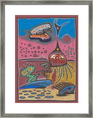 New Martain Vision Framed Print by Ralf Schulze