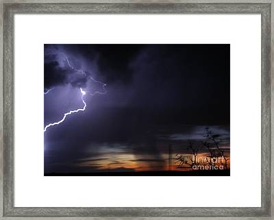 New Mexico Blast Framed Print