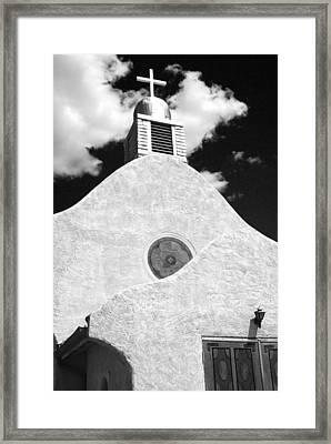 New Mexico Church Framed Print by Sonja Quintero