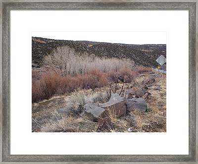 New Mexico Lanscape Framed Print