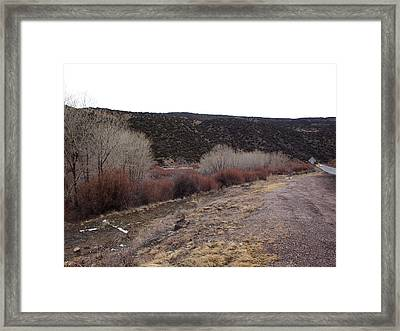 New Mexico Plein Air Study Framed Print