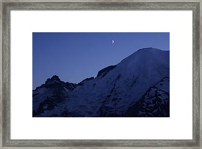 New Moon Blues Framed Print