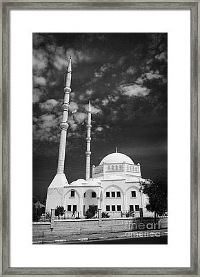 New Mosque Yeni Cami Famagusta Turkish Republic Of Northern Cyprus Trnc Framed Print
