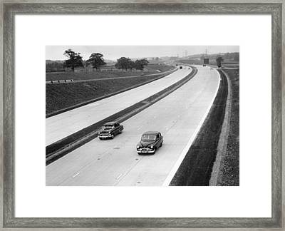 New Motorway Framed Print by Keystone