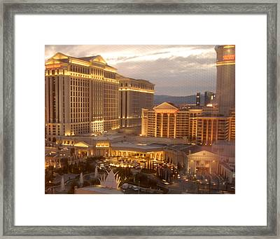 New Old World Caesar's Palace Framed Print by Dawn Bonner