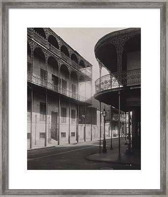 New Orleans, Le Petre, House Framed Print