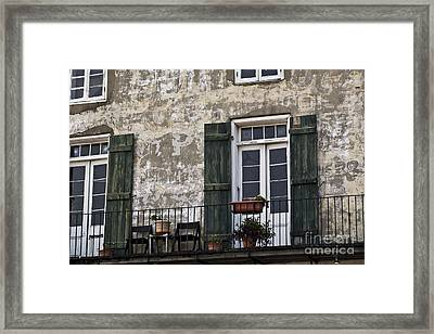 New Orleans Morning Framed Print by Leslie Leda