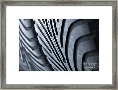 New Racing Tires Framed Print