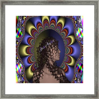 New Romantic Framed Print by Matthew Lacey