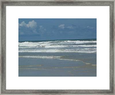 New Smyrna Beach Framed Print by Lisa Williams
