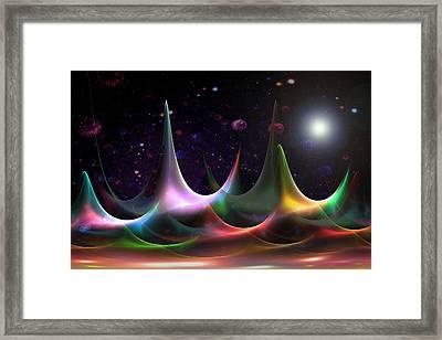New Sun Rising Framed Print by Steve K