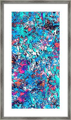 New Wave Dimension  Framed Print by Charles Yates