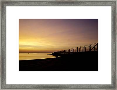 New Waves Framed Print by Jason Naudi Photography
