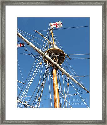 Framed Print featuring the photograph New World II by Nancy Dole McGuigan