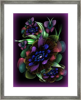 New Year's Bouquet Framed Print by Karla White