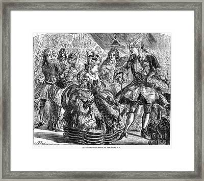 New Years Eve Ball, 1866 Framed Print by Granger