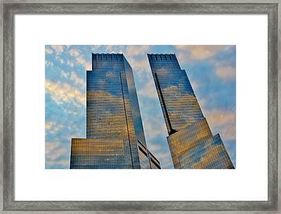 New York 003 Framed Print