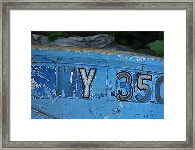 New York 350 Framed Print by Tiffany Ball-Zerges