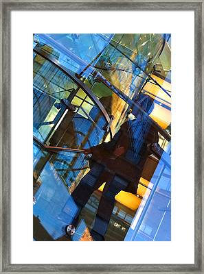 New York Apple Framed Print by Kathy Corday
