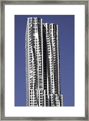 New York By Gerhy Framed Print