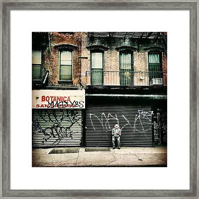 New York City - Lower East Side Framed Print