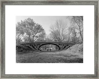 New York City, Central Parks Gothic Framed Print