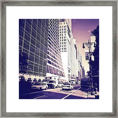 New York City Dreamscape Framed Print