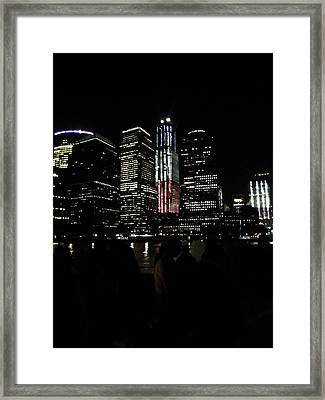 New York City Freedom Tower Framed Print by Paul Plaine
