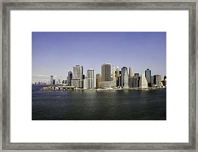 New York City Framed Print by Paul Plaine