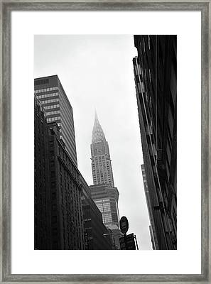 New York City Framed Print by Thank you for choosing my work.