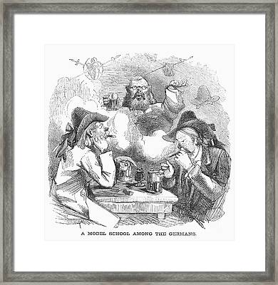 New York: German School Framed Print by Granger