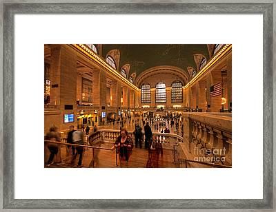 New York Grand Central Framed Print