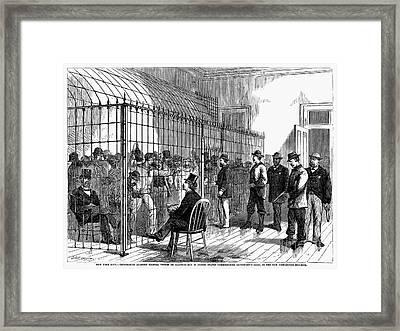 New York: Illegal Voters Framed Print by Granger