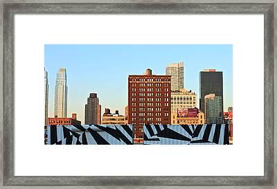 New-york Landmarks Framed Print by Jordan Drapeau