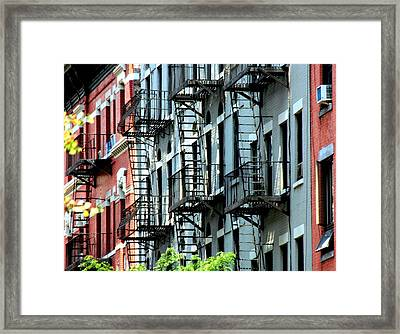 New York Framed Print by Luiz Felipe Castro