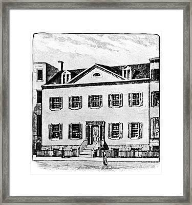 New York: Mansion Framed Print