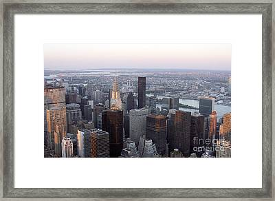 Framed Print featuring the photograph New York by Milena Boeva