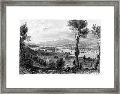 New York: Mount Ida, 1839 Framed Print