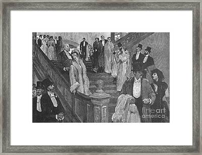 New York: Opera, 1890 Framed Print by Granger