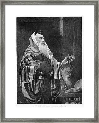 New York Rabbi, 1890 Framed Print by Granger
