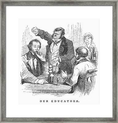 New York: Schoolmasters Framed Print by Granger