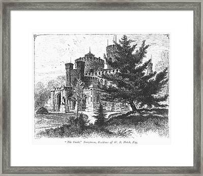 New York State: Castle Framed Print by Granger