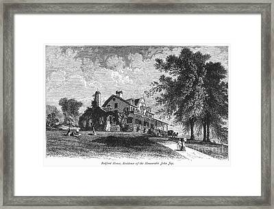 New York State: Mansion Framed Print by Granger