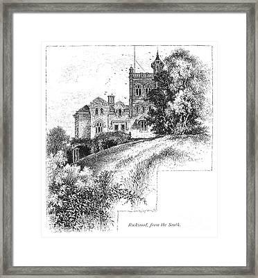 New York State: Villa Framed Print by Granger