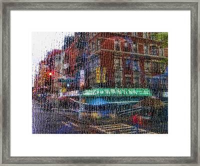 New York Street Framed Print by Boss Photographic