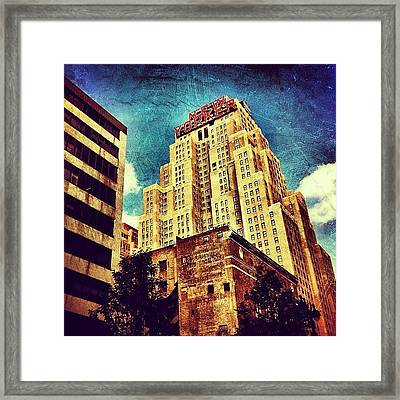New Yorker Hotel Framed Print