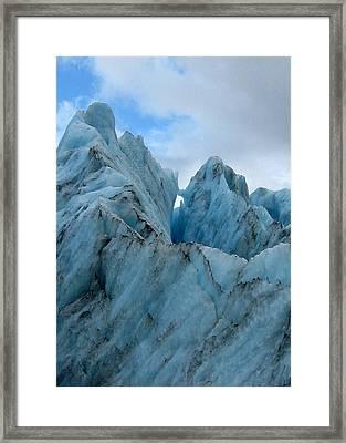 New Zealand Glacier Framed Print by JoAnne Rauschkolb