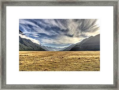 New Zealand Road Trip Framed Print by Andreas Hartmann